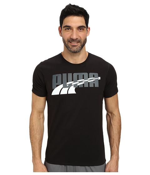 PUMA - Formstripe Weave Logo (Black/Turbulence/White) Men's T Shirt