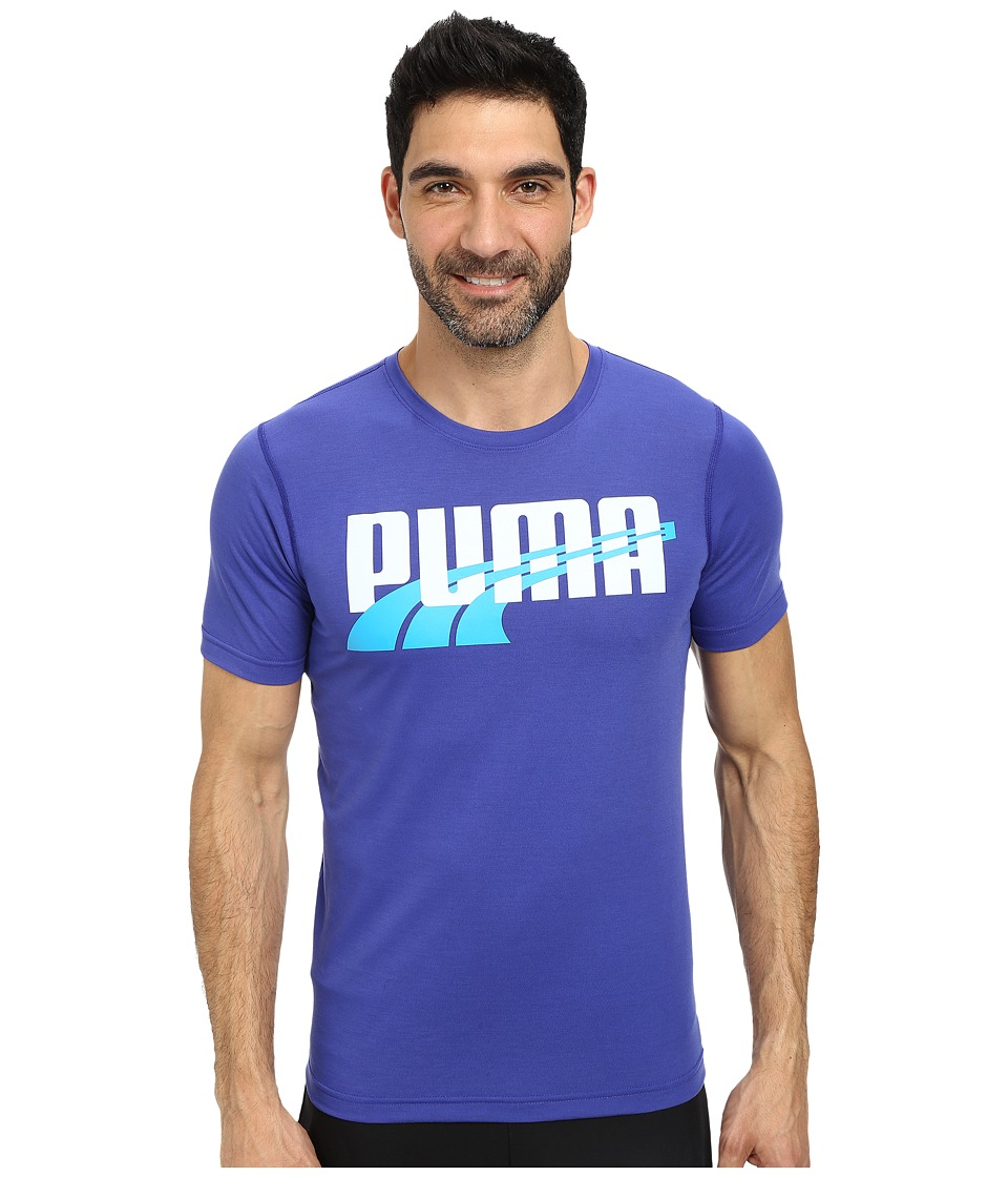 PUMA - Formstripe Weave Logo (Clematis Blue/White/Hawaiian Ocean) Men