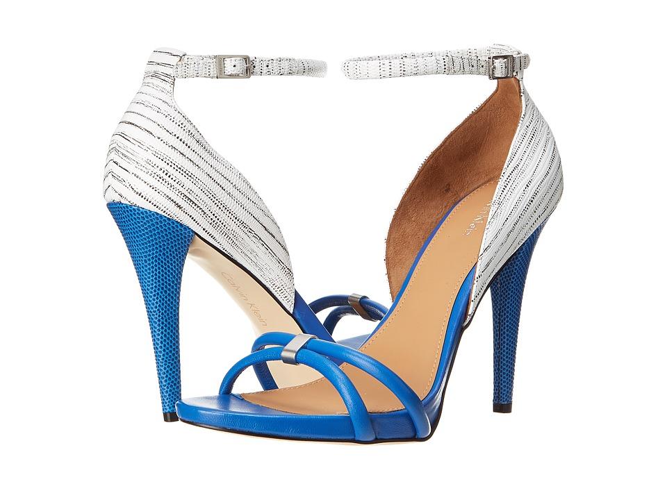 Calvin Klein - Nathali (Klein Blue/White Nappa) High Heels