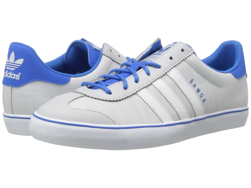 adidas Originals - Samoa Vulc (Light Solid Grey/White/Bluebird) Men