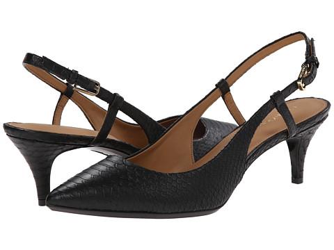Calvin Klein - Patsi (Black Baby Python) High Heels