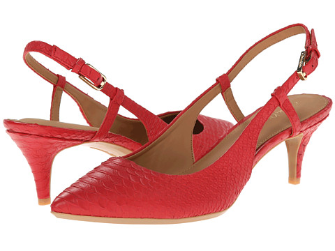 Calvin Klein - Patsi (Lacquer Red Baby Python) High Heels