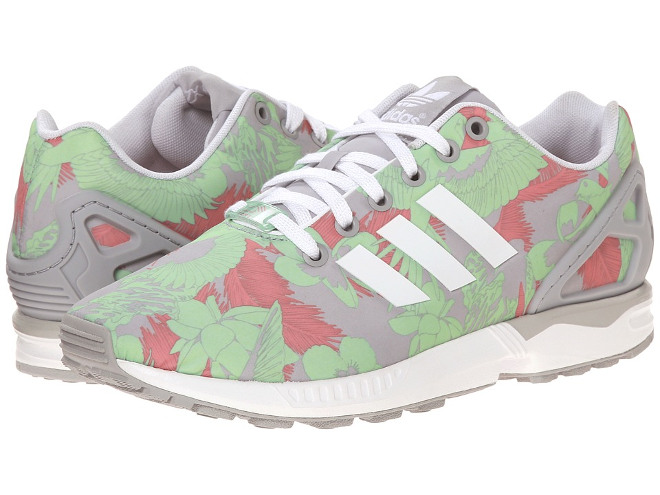 adidas Originals ZX Flux W (Light Onix/White/Vista Pink) Women