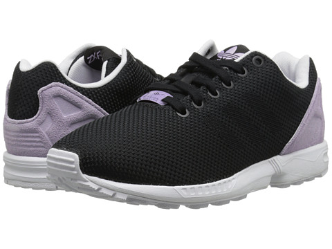 adidas Originals - ZX Flux Weave W (Black/Black/Bliss Purple) Women's Running Shoes