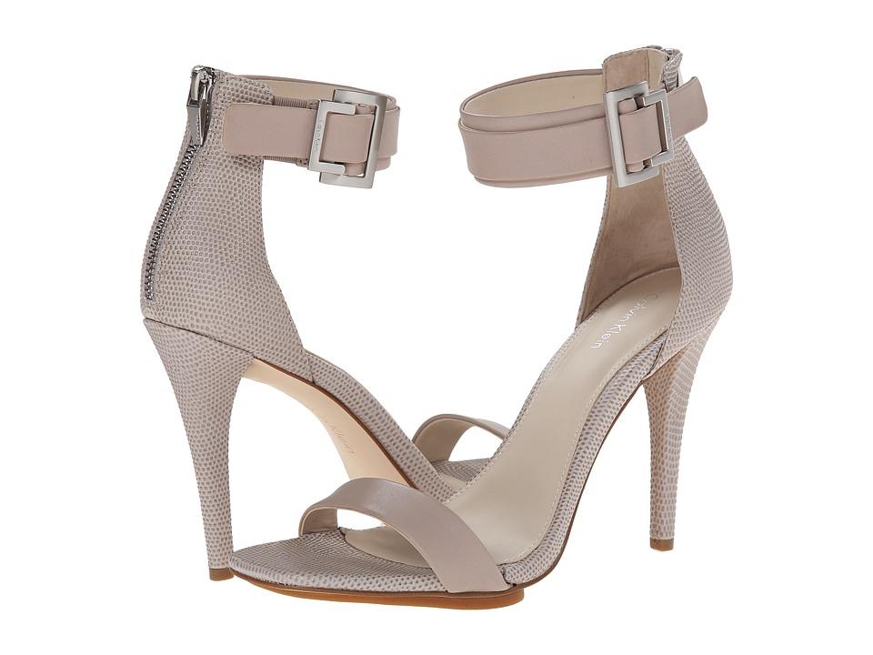 Calvin Klein - Sable (Greige Cow Silk) Women's Dress Sandals