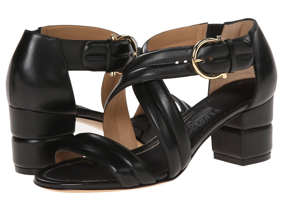 Salvatore Ferragamo - Magis (Nero Calf) Women's Shoes