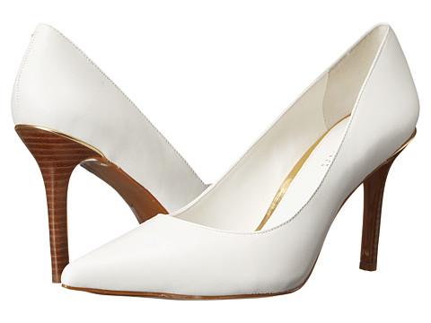 LAUREN by Ralph Lauren - Sarina (RL White Kidskin) High Heels