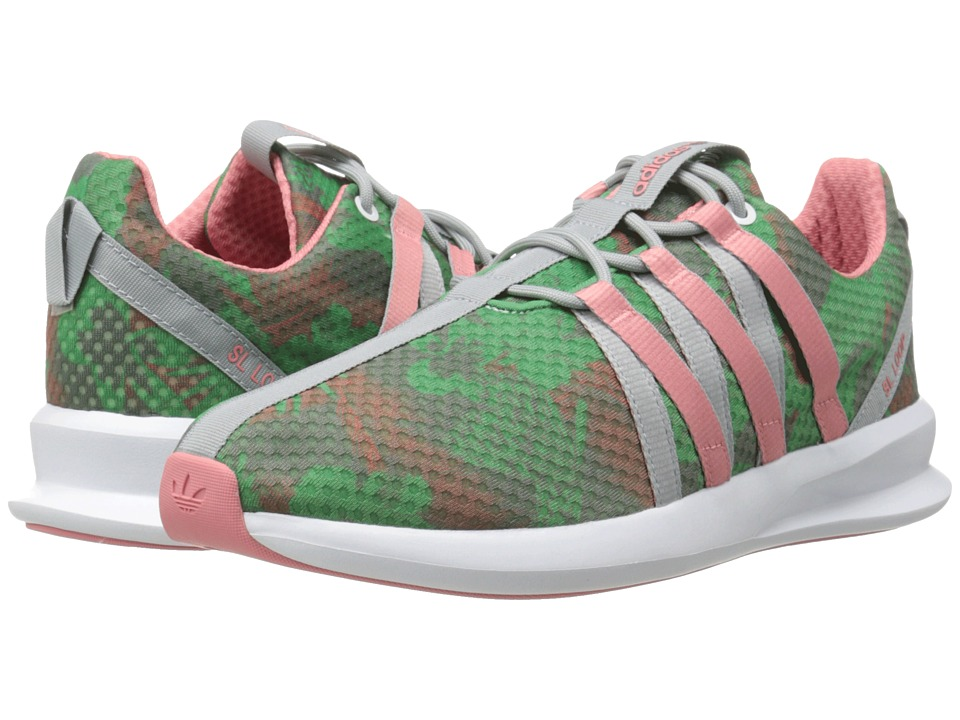 adidas Originals - SL Loop Racer W (White/Blush Green/Vista Pink) Women's Running Shoes