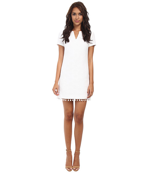 Trina Turk - Museum Dress (Pure White) Women