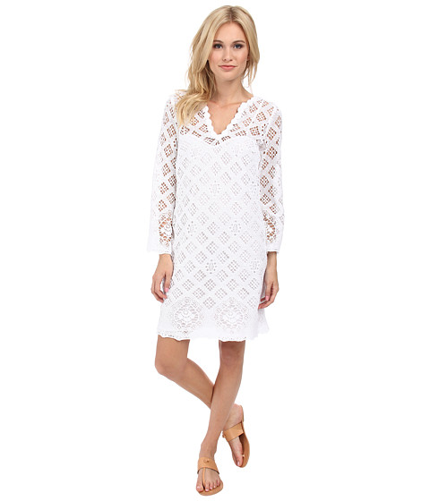Trina Turk - Clair Dress (White) Women