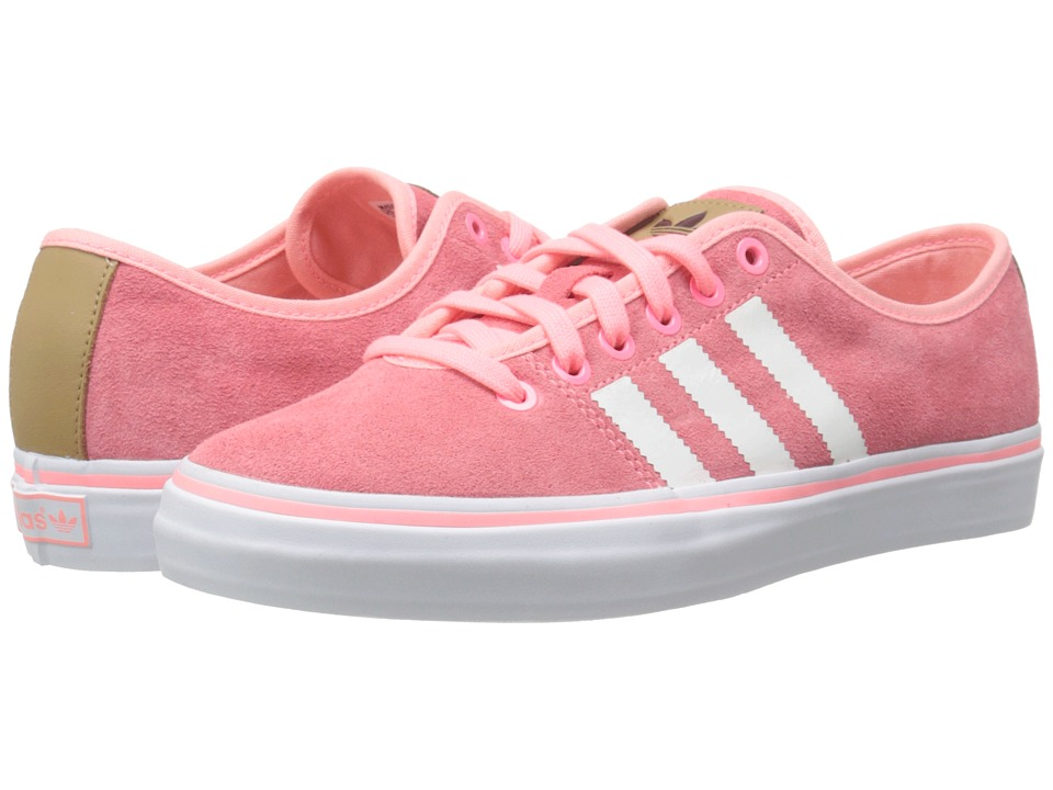 adidas Originals - Adria Lo W (Light Flash Red/White/White) Women's Classic Shoes