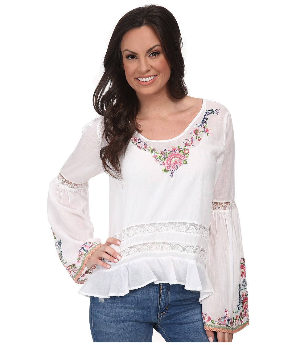 Tasha Polizzi - Flower Child Top (White) Women