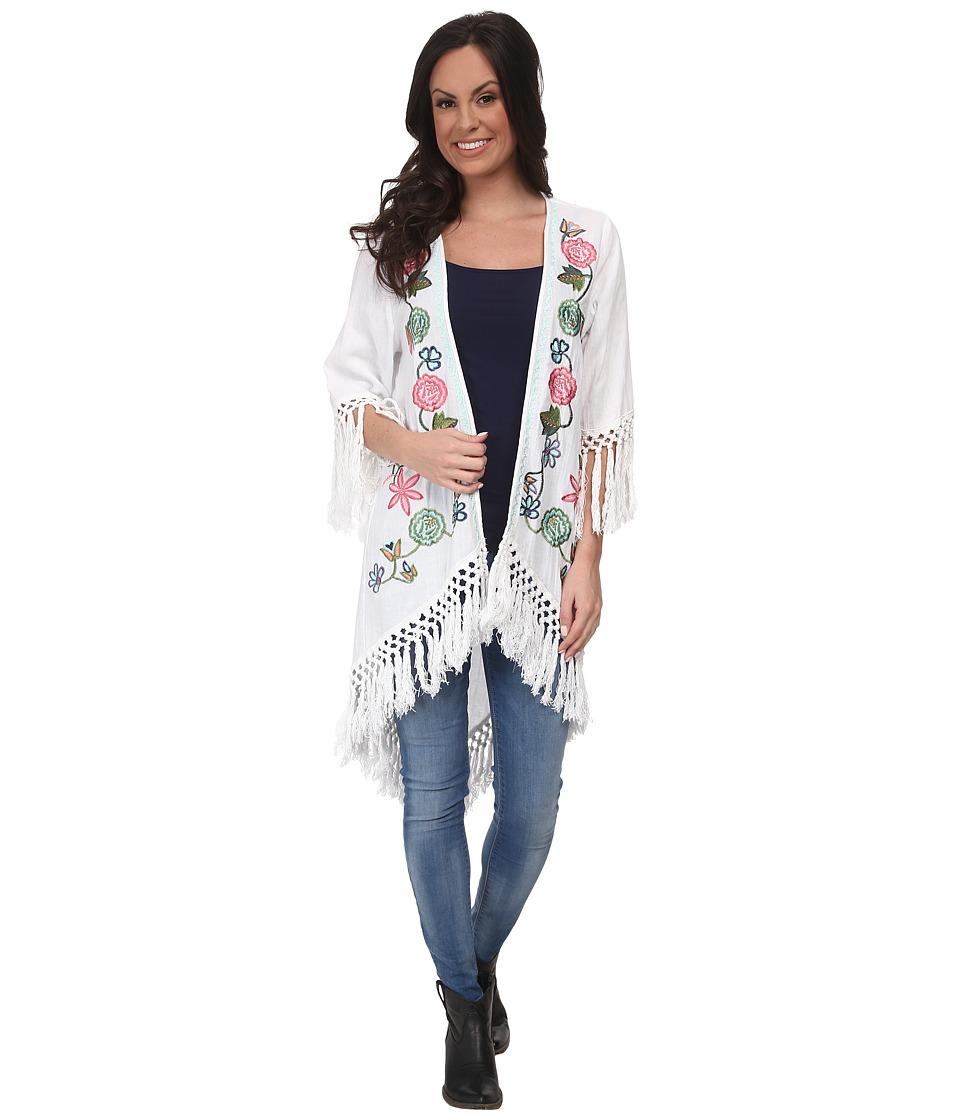 Tasha Polizzi - Janis Cardigan (White) Women's Sweater