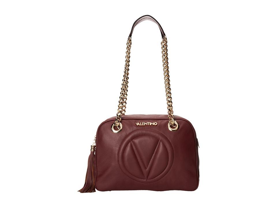 Valentino Bags by Mario Valentino - Madonna 2 (Burgundy) Shoulder Handbags