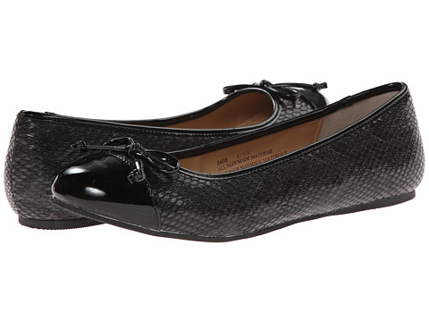 Fitzwell - Jade (Black Snake) Women's Flat Shoes