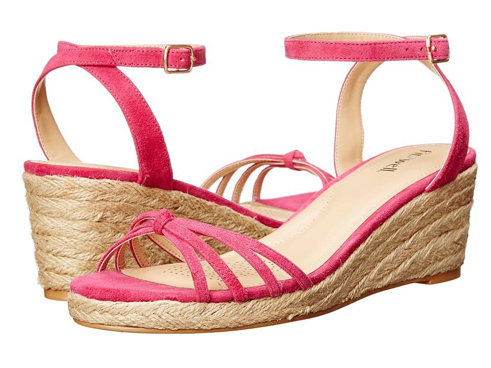 Fitzwell - Emma (Fuchsia Suede) Women's Shoes
