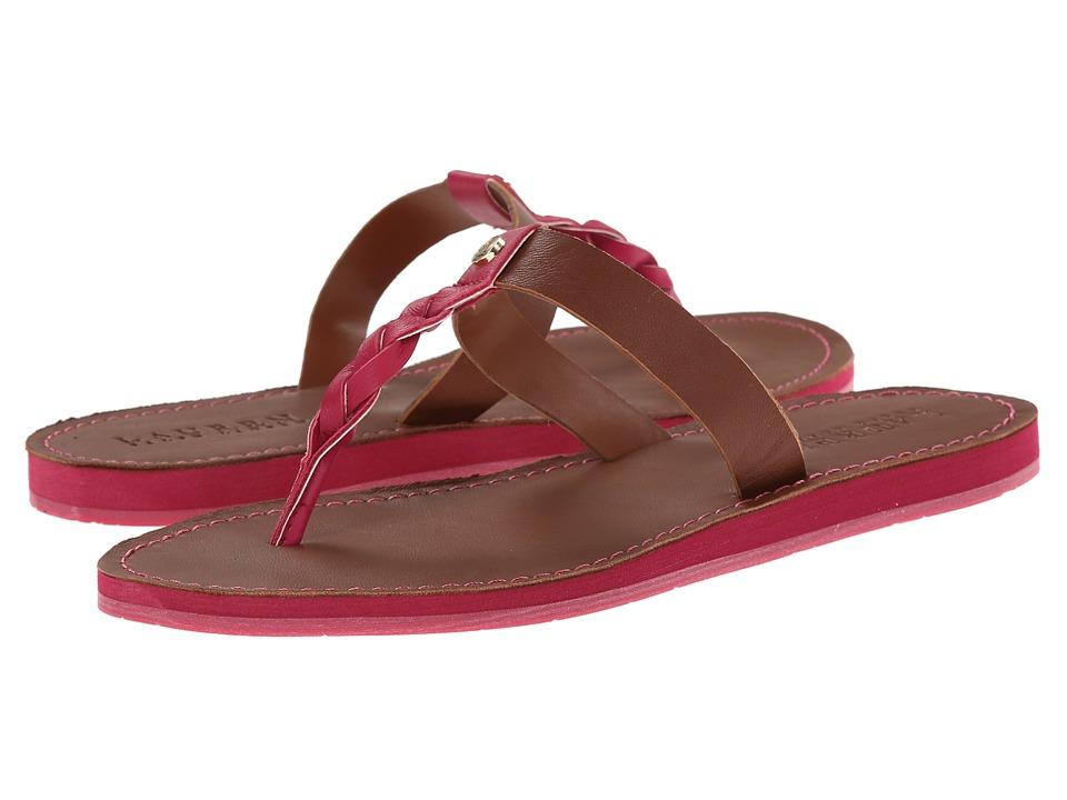 LAUREN Ralph Lauren - Darrah (Geranium/Polo Tan) Women's Shoes