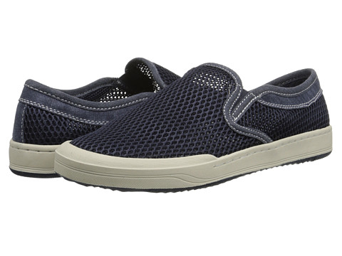 Bass - Hopewell (Navy Mesh) Men's Slip on Shoes