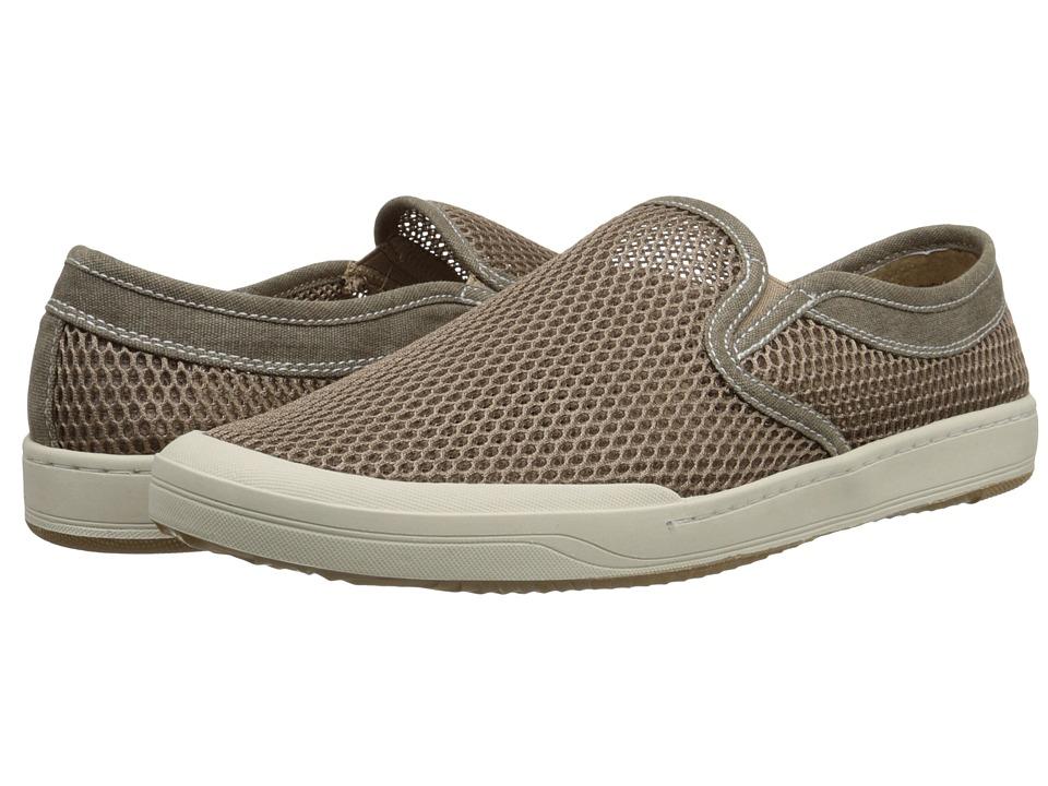 Bass - Hopewell (Dark Natural Mesh) Men's Slip on Shoes