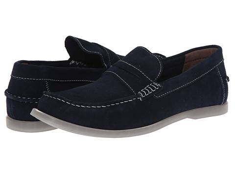 Bass - Keane (Navy Suede) Men