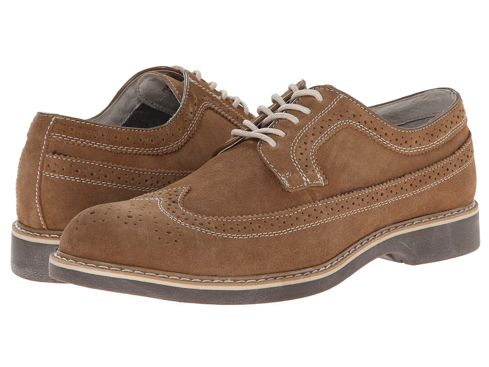 Bass Pearson (Taupe/Taupe Suede/Suede Perf) Men