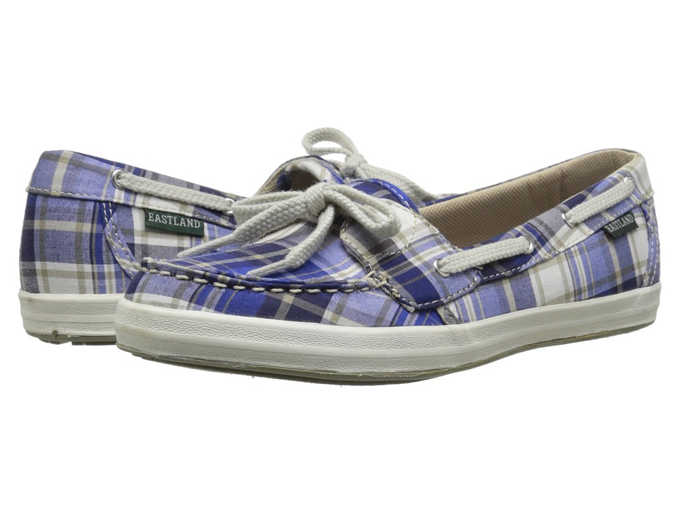 Eastland - Skip (Blue/Tan Plaid) Women's Shoes