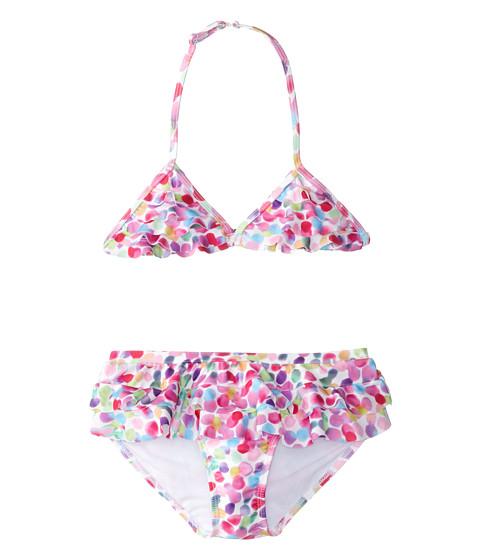 Kate Mack - Up Up Away Swim Bikini Skirted (Big Kids) (Multi) Girl's Swimwear Sets