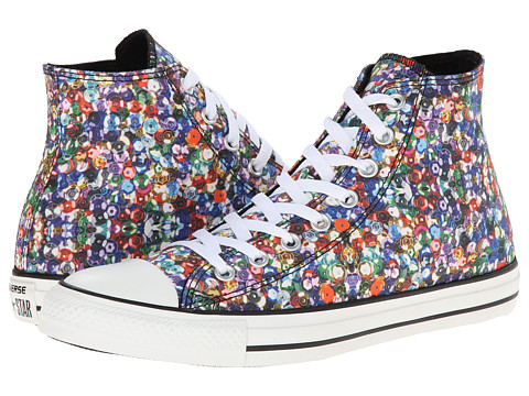 Converse - Chuck Taylor All Star Hi (Multi/White) Women