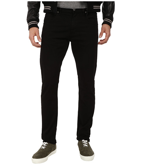 LOVE Moschino - Basic Jean with Tone On Tone Stitch (Black) Men