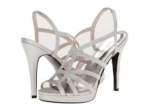 Caparros - Susannah (Silver Glitz) High Heels