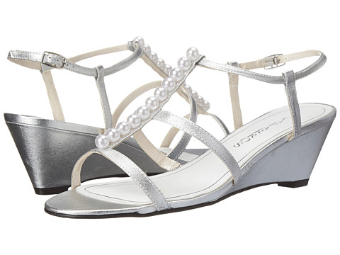 Caparros - Sullivan (Silver Metallic) Women's Wedge Shoes