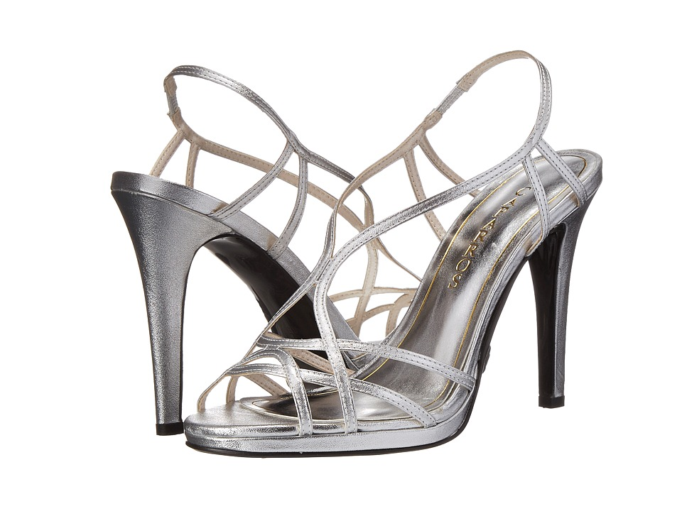 Caparros Sunday (Silver Metallic No Stones) High Heels