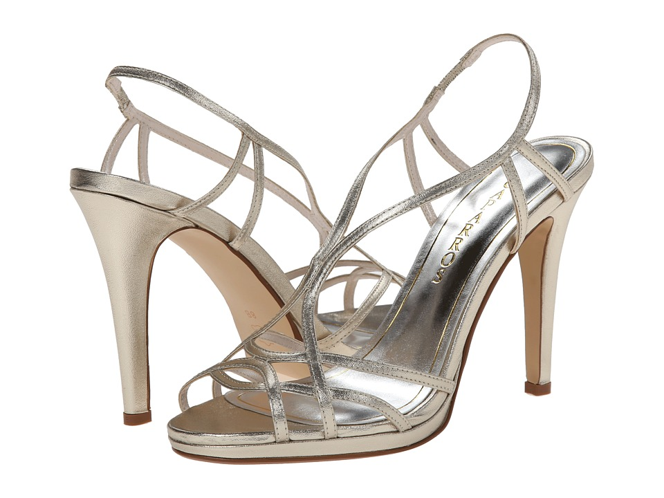 Caparros - Sunday (Platino Gold Metallic No Stones) High Heels