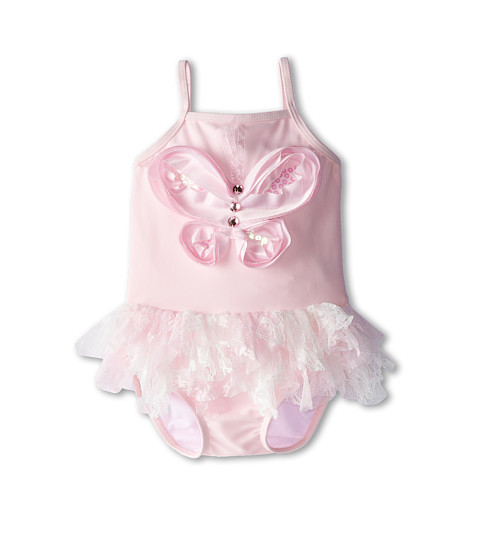 Kate Mack - Social Butterfly Swim Baby One-Piece (Infant) (Pink) Girl