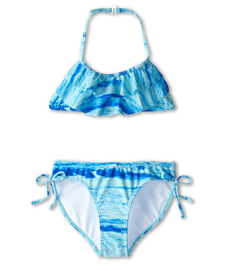Kate Mack - Swim Bikini (Big Kids) (Blue) Girl