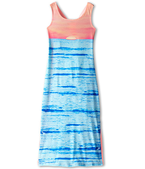 Kate Mack - Dress Maxi (Big Kids) (Blue) Girl's Dress