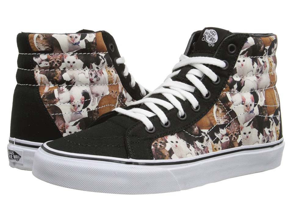 Vans - SK8-Hi Reissue X ASPCA ((ASPCA) Kittens/True White) Skate Shoes
