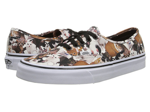 Vans - Authentic x ASPCA ((ASPCA) Kittens/True White) Skate Shoes