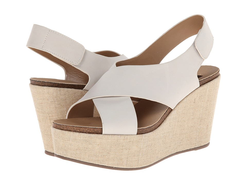Steven - Genesis (White Leather) Women's Shoes