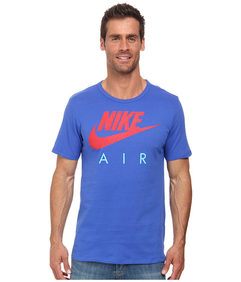 Nike - Air Puff Tee (Game Royal/Game Royal/University Red) Men