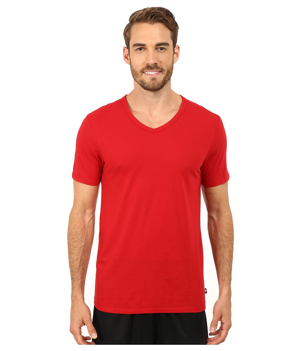 Nike - TB V Solid Futura Tee (Gym Red) Men's T Shirt