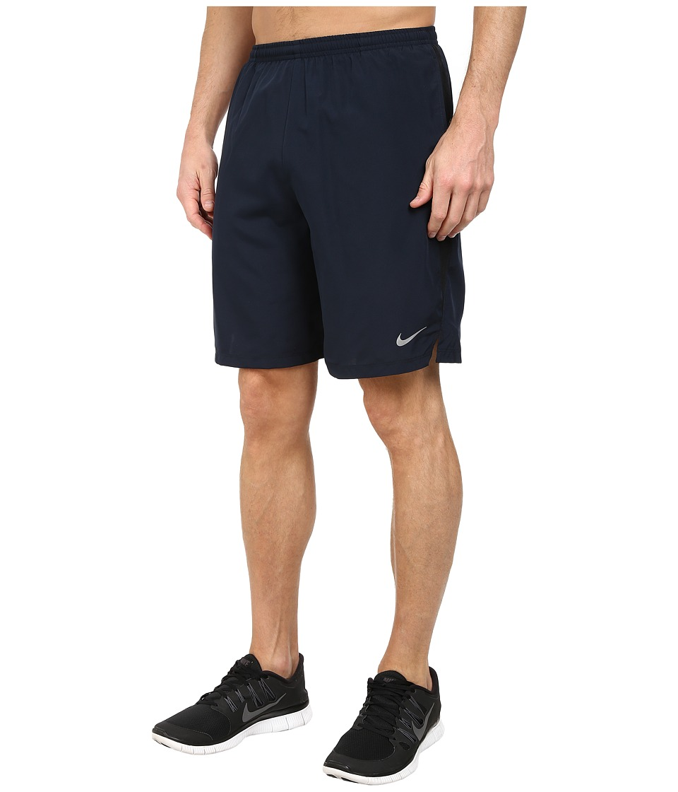 Nike - 9 Challenger Short (Dark Obsidian) Men's Shorts