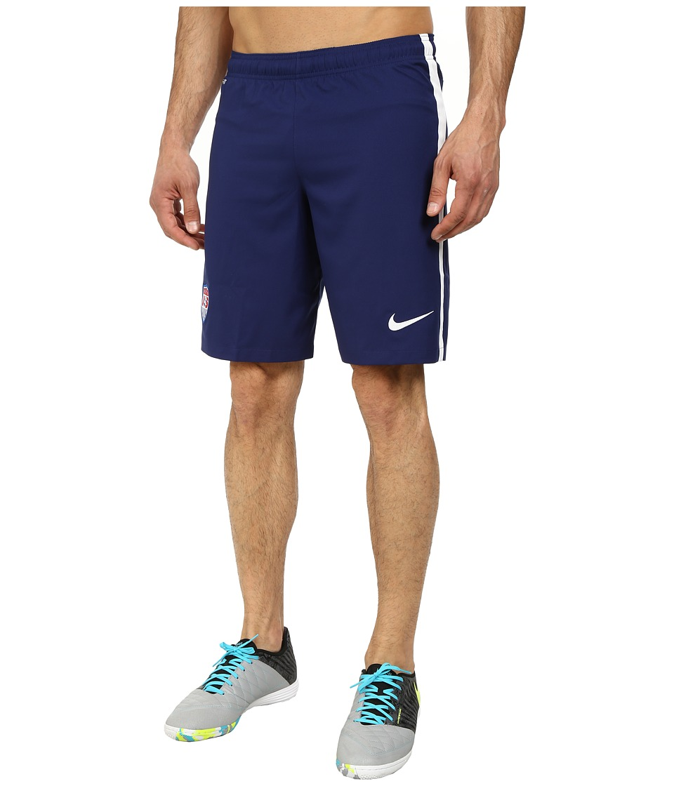 Nike - USA Away Stadium Short (Loyal Blue/Football White/Football White) Men