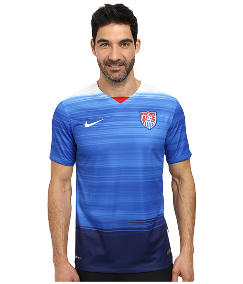 Nike - USA S/S Away Stadium Jersey (Game Royal/Loyal Blue/Football White) Men