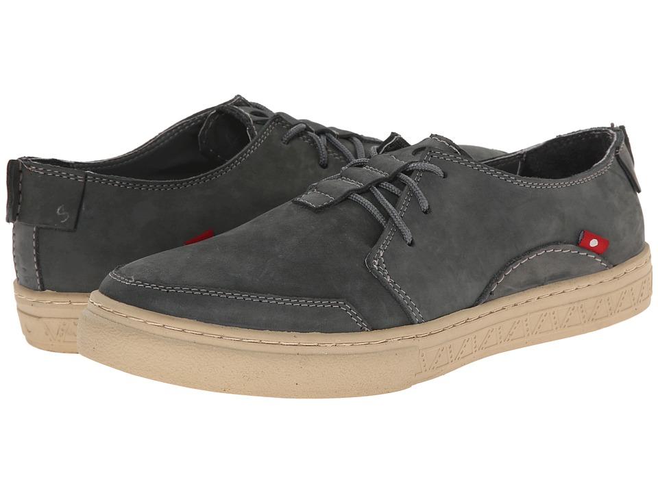 Oliberte - Anbesso (Dark Grey Nubuck) Men's Lace up casual Shoes