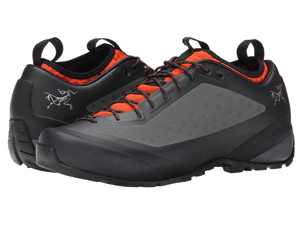 Arc'teryx - Acrux FL (Graphite/Bright Flame) Men's Shoes