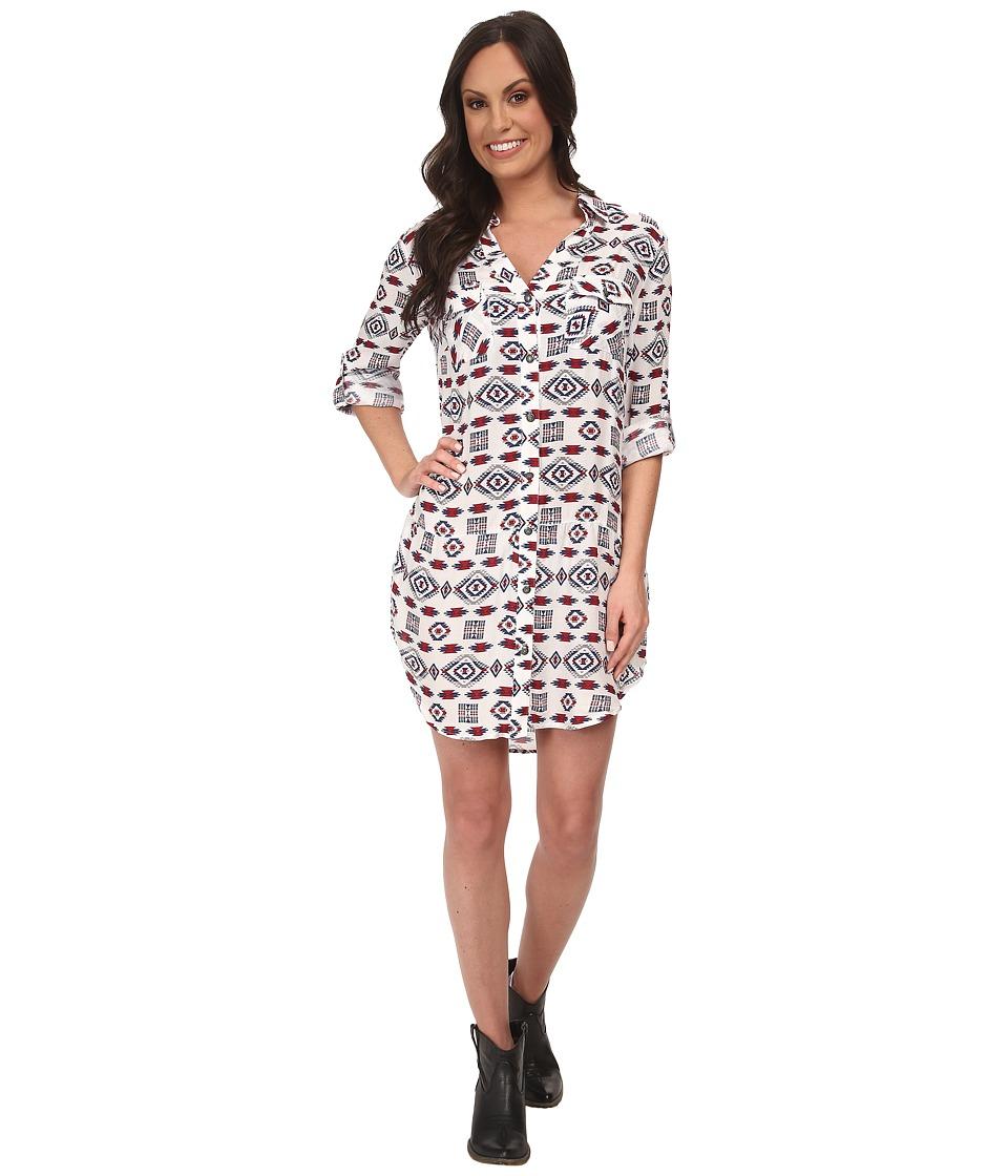 Tasha Polizzi - Four Corners Tunic (Cream Multi) Women's Dress