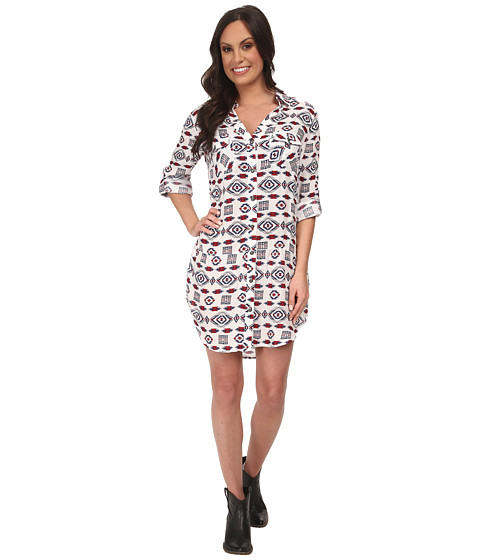 Tasha Polizzi - Four Corners Tunic (Cream Multi) Women's Dress
