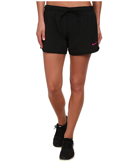 Nike - Phantom Training Short (Black/Fuchsia Flash) Women's Shorts
