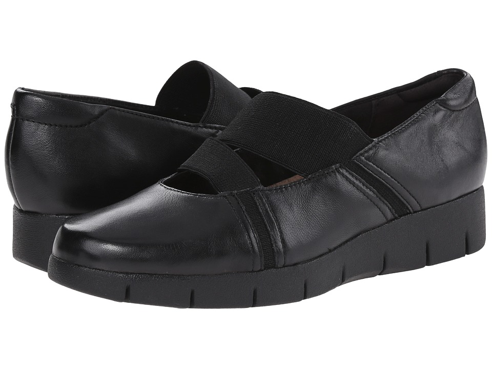 Clarks - Daelyn Villa (Black Leather) Women